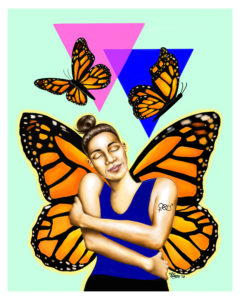 Healthy, Free, and Proud by Adelina Cruz