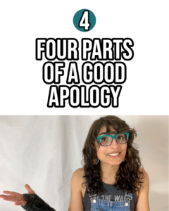 module 4 parts of a good apology